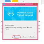 Ilustración 20 – Cliente VPN de Microsoft Azure para conexiones Point-To-Site: conexión desde Microsoft Windows.