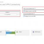 Ilustración 3 – Creación de una red virtual en Microsoft Azure. Configuración de DNS Servers y la propiedad de conectividad Point-To-site.