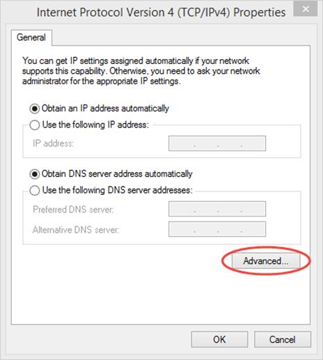 Ilustración 12 – Asistente para creación manual de marcado VPN Point-To-Site hacia Microsoft Azure.