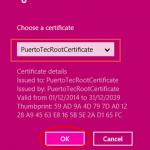 Ilustración 15 – Marcado VPN Point-To-Site hacia Microsoft Azure.
