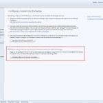 Ilustración 36 – Configuración de Microsoft Exchange en su versión Online para que cuentas de correo electrónico agregadas a dispositivos sean detectados por Windows Intune.