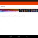 Ilustración 21 – Agregado de cuenta de Windows Intune para Administración Directa en un dispositivo Android. Configuración.