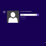 "Ilustración 15 – Configuración de Acceso Asignado (Kiosk Mode) en Windows 8.1 | Primer inicio de sesión para el usuario local que tendrá ""Acceso Asignado""."