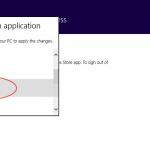 Ilustración 17 – Configuración de Acceso Asignado (Kiosk Mode) en Windows 8.1 | Configuración de aplicación para el usuario local.