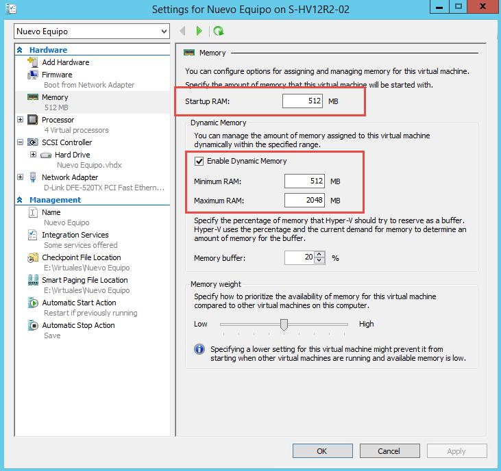 Imagen 3 - Configuración de la máquina virtual al instalar Windows Server 2012 R2 para que no genere error de licenciamiento.