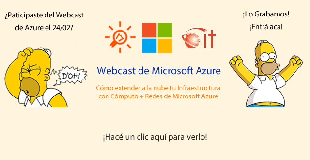 Webcast Microsoft Azure para IT Pros | 24/02/2015