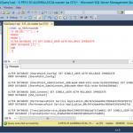 Ilustración 3– Ejecución del Script de SQL Server que genera la salida necesaria para eliminar todas las bases de datos de la instancia.