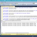 Ilustración 5 – Ejecución del Script que elimina todas las bases de datos de la instancia SQL Server.