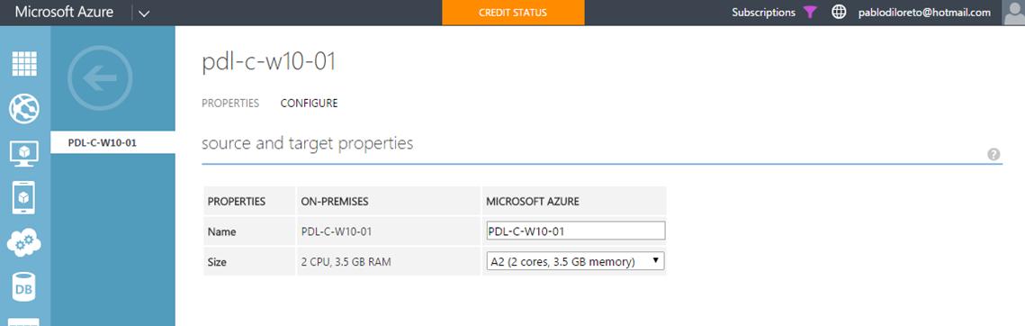 Ilustración 27 – Configuración de Máquinas Virtuales al Grupo de Protección en Azure Site Recovery Vault.