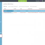 Ilustración 6 – Administración de un Directorio existente en Microsoft Azure.