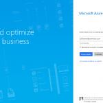 Ilustración 7 – Registro de una nueva suscripción completa de Azure para administrar un Directorio de Office 365: inicio de sesión con nuestra cuenta organizacional (Office 365).