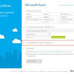 Ilustración 9 – Registro de una nueva suscripción completa de Azure para administrar un Directorio de Office 365: proceso de suscripción.
