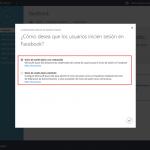 Ilustración 10 – Configurando la publicación de una Aplicación Web de Terceros en Azure Active Directory: Facebook. Inicio de Sesión único.
