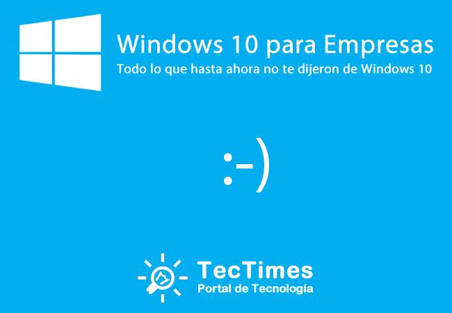 [Webcast] Windows | Windows 10 para Empresas (sesión 1 de 2)
