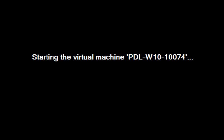Ilustración 1 – Instalación de Windows 10 Build 10074. Encendido del Equipo.
