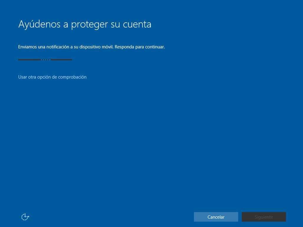 Ilustración 17 – Instalación de Windows 10 Build 10074. OOBE de Windows 10 para Enterprises. Inicio de Sesión con cuenta Office 365 ó Azure Active Directory.