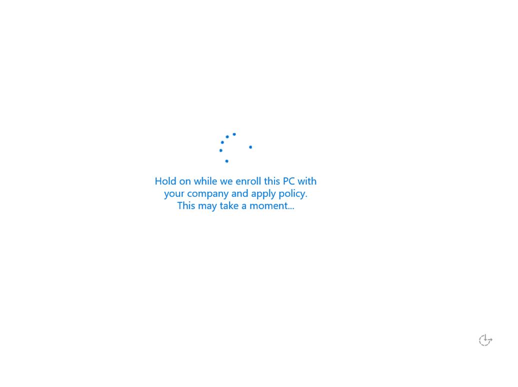 Ilustración 18 – Instalación de Windows 10 Build 10074. OOBE de Windows 10 para Enterprises. Inicio de Sesión con cuenta Office 365 ó Azure Active Directory.