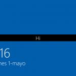 Ilustración 22 – Instalación de Windows 10 Build 10074. Primer inicio de sesión.