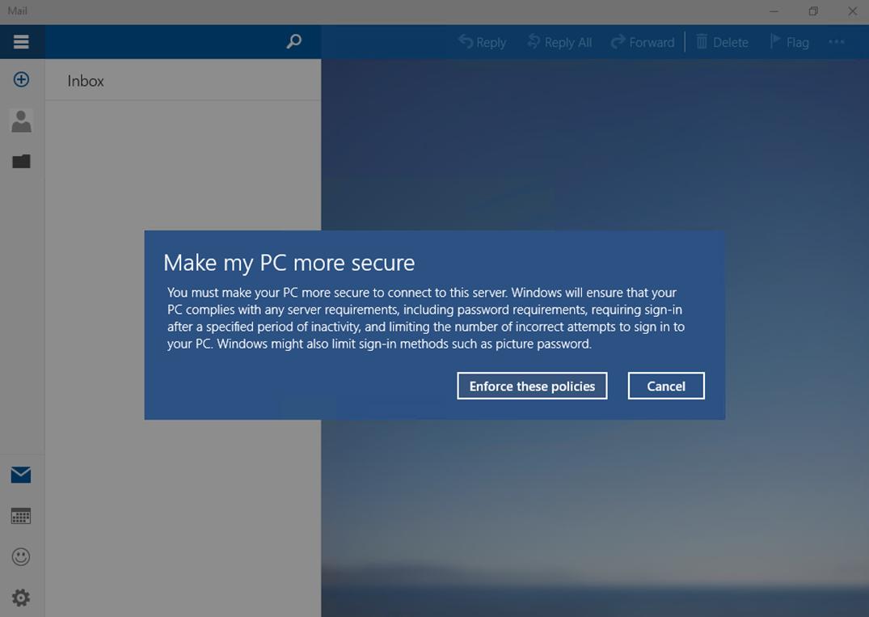 Ilustración 25 – Instalación de Windows 10 Build 10074. Primer inicio de sesión.