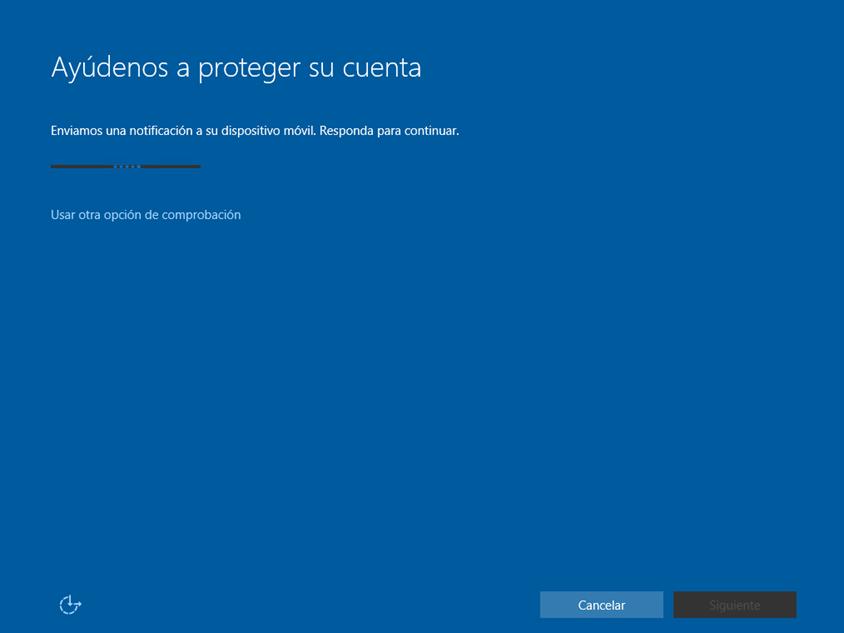 Ilustración 12 – Instalación de Windows 10 Build 10074. OOBE de Windows 10 para Enterprises. Inicio de Sesión con cuenta Office 365 ó Azure Active Directory.
