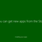 Ilustración 15 – Instalación de Windows 10 Build 10074. Primer inicio de sesión.