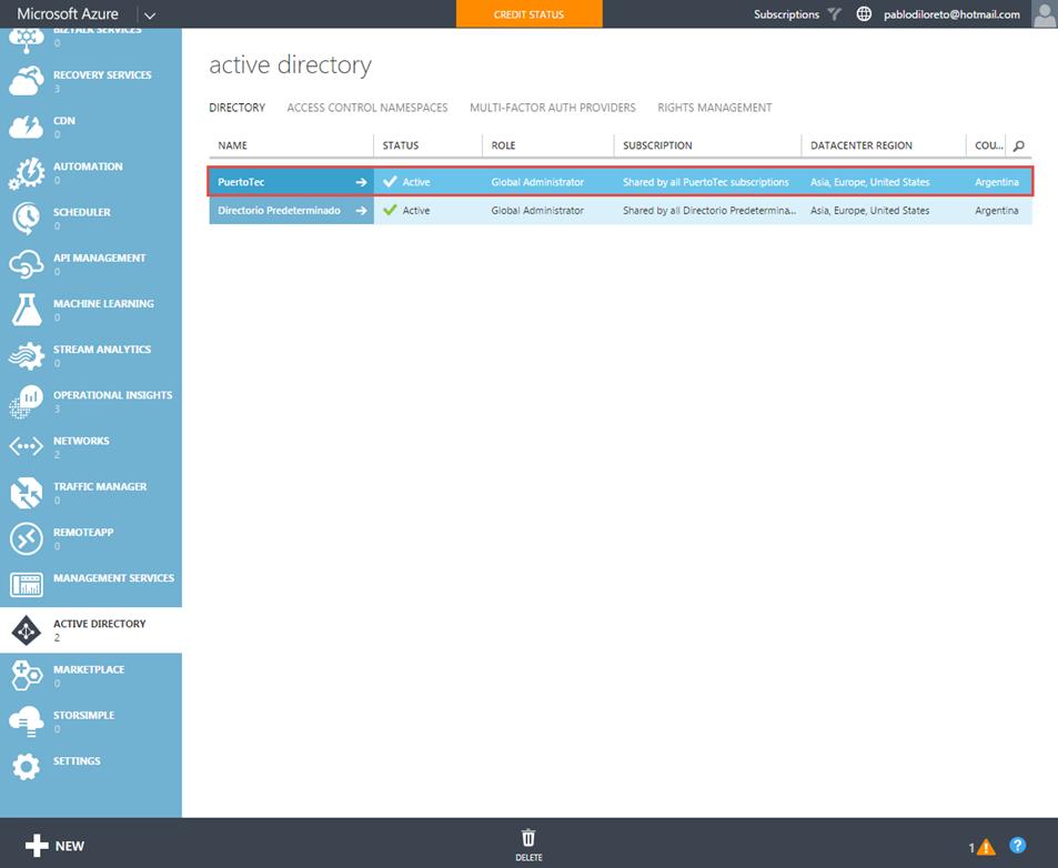 Ilustración 16 – Registro de Dispositivo en Azure Active Directory.