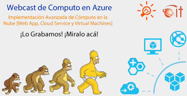 Webcast Microsoft Azure Computo | 20150530