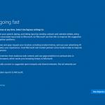 Ilustración 10 – Instalación de Windows 10 Build 10130. OOBE de Windows 10.