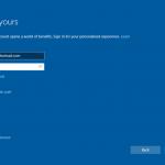 Ilustración 24 – Instalación de Windows 10 Build 10130. OOBE de Windows 10 Professional. Creación de cuenta local para inicio de sesión.