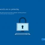 Ilustración 26 – Inicio de Sesión en Windows 10 Build 10130. Configuración de PIN.