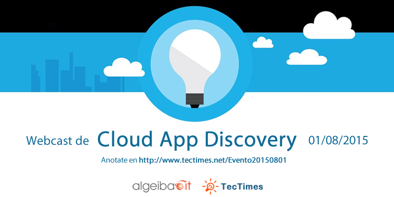 TecTimes | Evento Cloud App Discovery - 01/08/2015