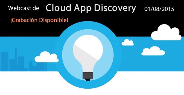 TecTimes | Webcast de CloudAppDiscovery - 01/08/2015