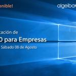 [Webcast] Windows | Presentación de Windows 10 para Empresas (Sesión 2 de 2) - 08/08/2015