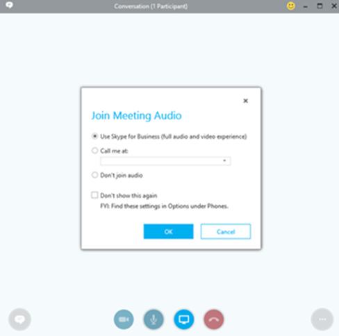 Conexión a Evento Online si tu empresa tiene Skype for Business / Lync.