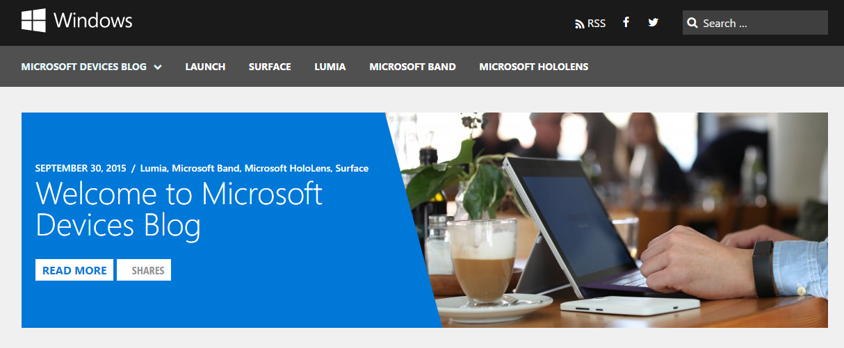 Windows Devices Blog Home