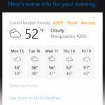 Qué hay de nuevo en Windows 10 Mobile Insider Preview Build 14267 - Buscar música rápidamente en Cortana.