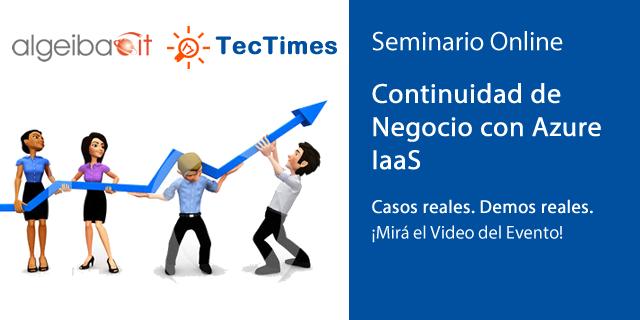 Continuidad de Negocio con Azure IaaS - Video del Evento