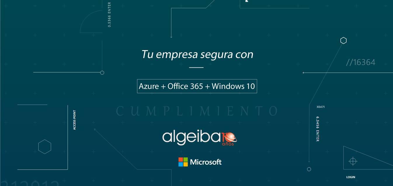 Evento Algeiba 04/05/2017 | Seguridad con Soluciones Microsoft