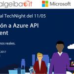 TechNight edición 11/05/2017 | Organizado por Pablo Di Loreto, Guillermo Bellmann y Nicolás Bello Carmetti