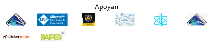 Sponsors del .NET Conf AR v2017