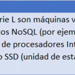 Instancias de Máquinas Virtuales en Azure para Almacenamiento Optimizado.